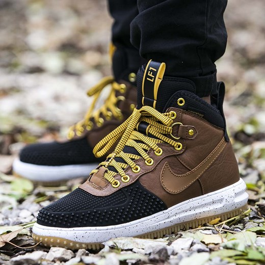 super popular 66157 0d855 ... buty nike lunar force 1 duckboot black british tan (805899 004 . ...