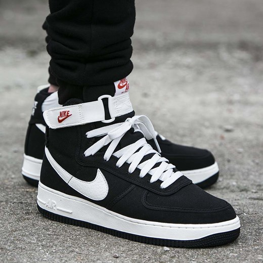 separation shoes 7d265 2b573 Buty Nike Air Force 1 High Retro (832747-001) czarny Nike 12 Worldbox ...