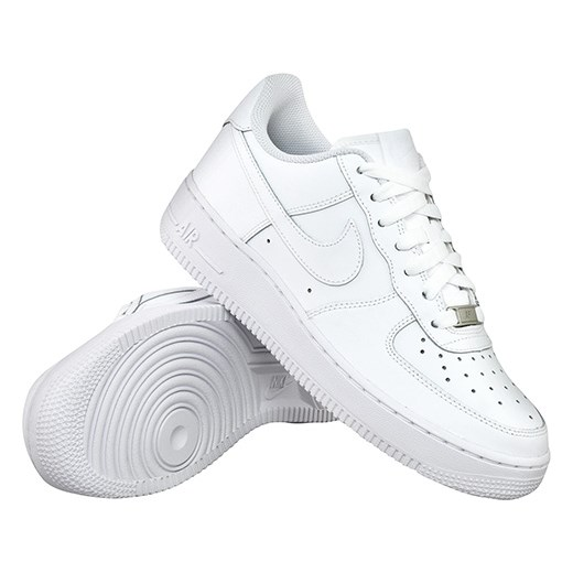 buty nike air force 1 low (gs) all white