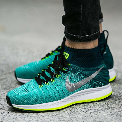 ba79dc56fb1 Buty Nike Air Zoom Pegasus All Out Flyknit (GS) (844979-300) zielony ...