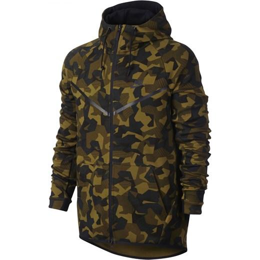 2829f3e78 Bluza Nike Sportswear Tech Fleece Windrunner Hoodie brązowe 835866-347 Nike  S okazja nstyle.
