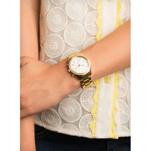 d5cb869d7bb9c0 ZEGAREK CARAVELLE 44L114 Nowoczesne Zegarki na rękę e-watches bezowy damskie  w Domodi