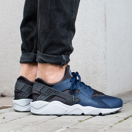 ładne buty renomowana strona cienie Buty męskie sneakersy Nike Air Huarache 318429 409 niebieski  sneakerstudio.pl