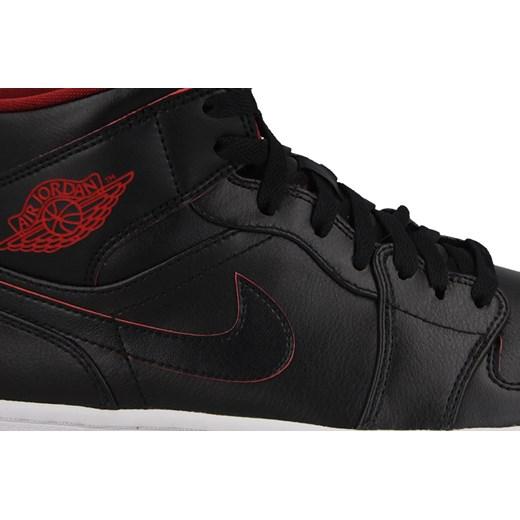 Buty męskie sneakersy Nike Air Jordan 1 Mid 554724 028 czarny sneakerstudio.pl