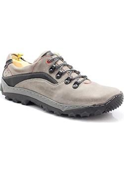 KENT 268 SZARY - Polskie buty trekkingowe, skóra Kent szary Tymoteo.pl - sklep obuwniczy - kod rabatowy
