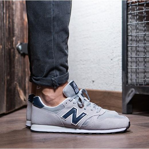 90c63b27cd45e Buty męskie sneakersy New Balance ML373GRN szary sneakerstudio.pl w ...