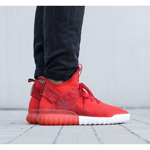 adidas tubular czerwone meskie