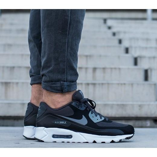 Buty męskie sneakersy Nike Air Max 90 Ultra Essential 819474 003 szary sneakerstudio.pl
