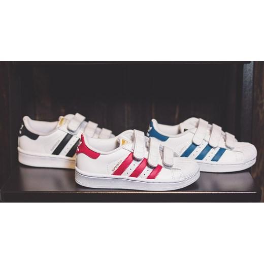 Buty dziecięce sneakersy Adidas Originals Superstar Foundation CF C S74945 szary sneakerstudio.pl