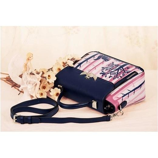 691a0a89811cd ... JUST STAR Damska torebka z wzorem Różowo-granatowa czarny Just Star  Tabela rozmiarów uniwersalnych Evangarda ...