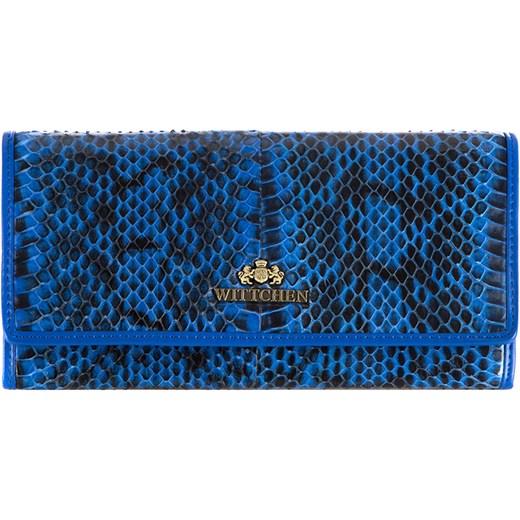 b6b616e17342e 19-1-075-NN Portmonetka wittchen niebieski damskie w Domodi
