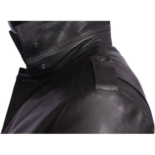 fbe66b427f996 Płaszcz skórzany męski DORJAN BILK950 DORJAN czarny dopasowane. Zobacz   Dorjan