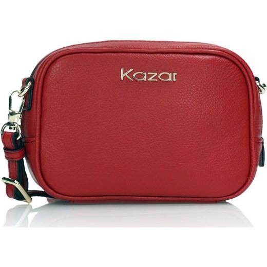 6f98858ece0b Czerwona torebka przez ramię Kazar czerwony kazar.com w Domodi