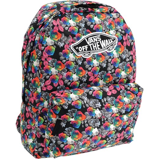 82bda8ab76764f Realm Backpack Rainbow Floral Vans fioletowy London Shoes w Domodi