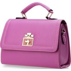 637955736076c Fioletowe torebki damskie do ręki małe
