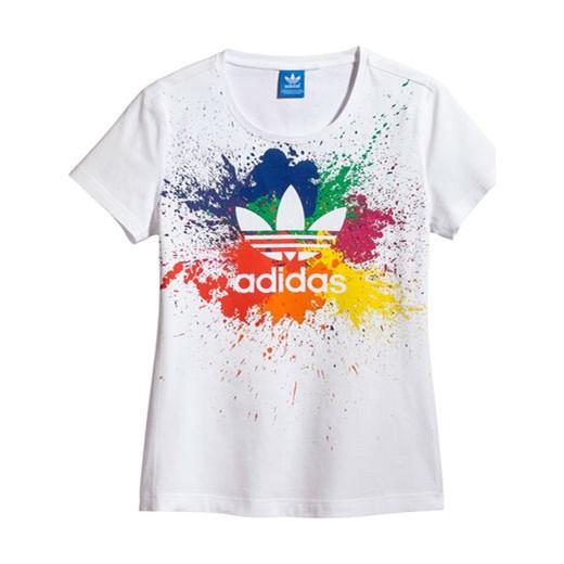 kup dobrze 100% jakości sprzedawca hurtowy adidas Koszulka LGBT Tee szary