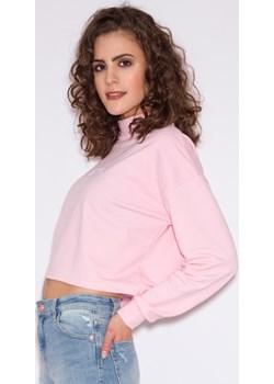 Bluza MISS TRBL Różowa M Miss Trouble bezowy wyprzedaż Misstrouble.pl  - kod rabatowy