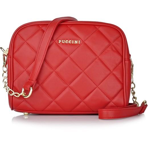 d06e804d20515 Fashion Collection torebka pikowana czerwony Puccini Royal Point w ...