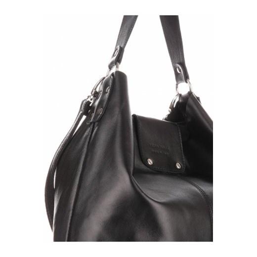 9335ae462730d ... Torba Skórzana Duży Shopper Bag XXL Czarna (kolory) bialy Vera Pelle  PaniTorbalska ...