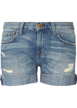 The Boyfriend distressed denim shorts Current/Elliott  NET-A-PORTER - kod rabatowy