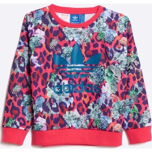 bluza adidas dziewczęca 158