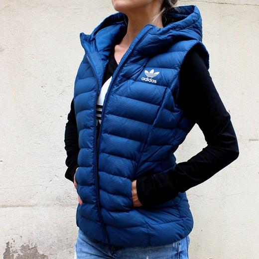 49462af92dd67 ... Bezrękawnik adidas Slim Vest Adidas Originals granatowy XS SquareShop