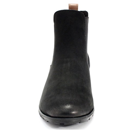 e536f67fe04d3 CHILLI SHOES 010 CZARNY - Klasyczne damskie sztyblety ze skóry czarny  Chilli Shoes 35 Tymoteo.