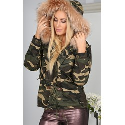 26c9c6c8cb8a Wielokolorowe kurtki damskie przejściowe krótkie