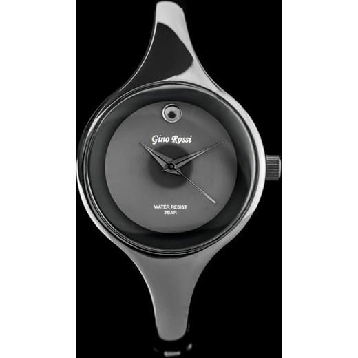 800b001cff688 Zegarek damski GINO ROSSI - MEVO (zg536h) zegarki-cc szary Zegarki damskie