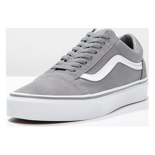vans old skool true white damskie