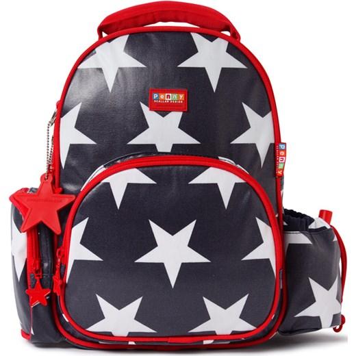 347712bc177b6 Penny Scallan Design, mały plecak z kieszeniami, granatowy w gwiazdy Design  smyk