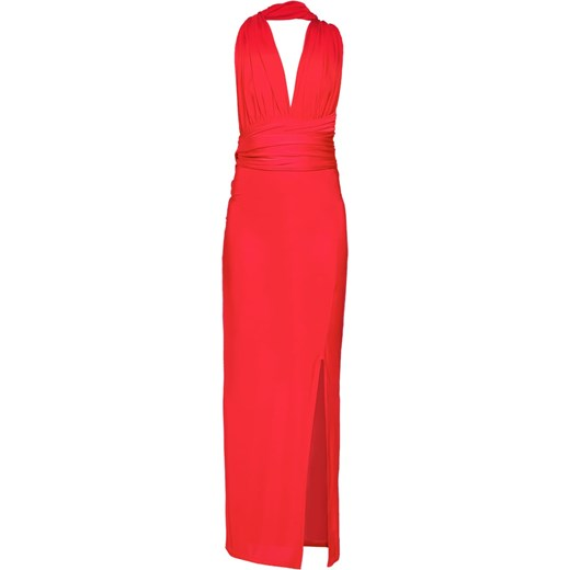 09850e72f5 Missguided Sukienka z dżerseju red Zalando w Domodi
