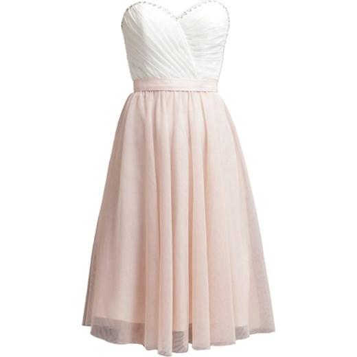 986567ee3 Laona Sukienka koktajlowa cream white/rose blush zalando szary midi w Domodi