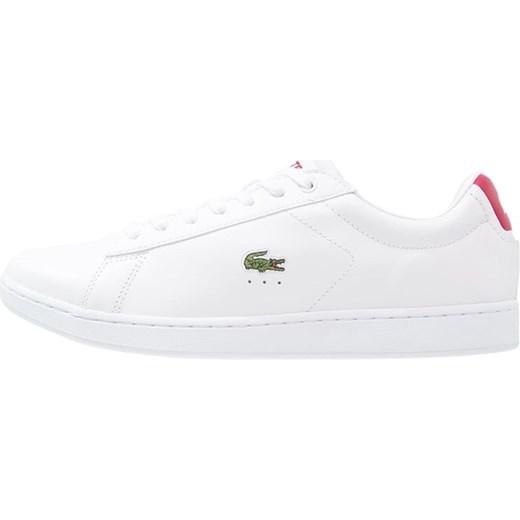 Lacoste CARNABY EVO Tenisówki i Trampki whitered bialy Zalando