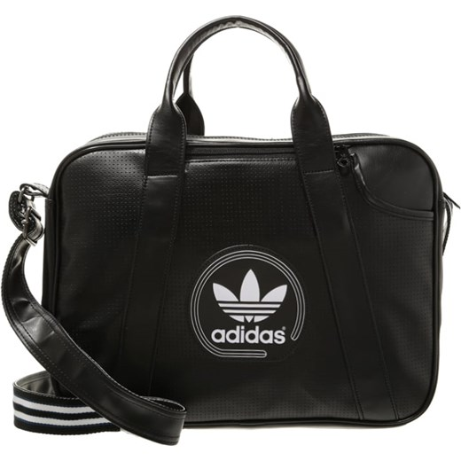 adidas Originals AIRLINER Torba na ramię blackwhite zalando czarny