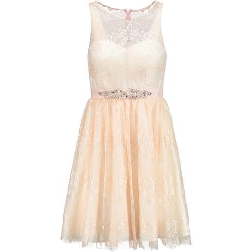 1880903fa Laona Sukienka koktajlowa rose blush/cream White zalando bezowy mini w  Domodi