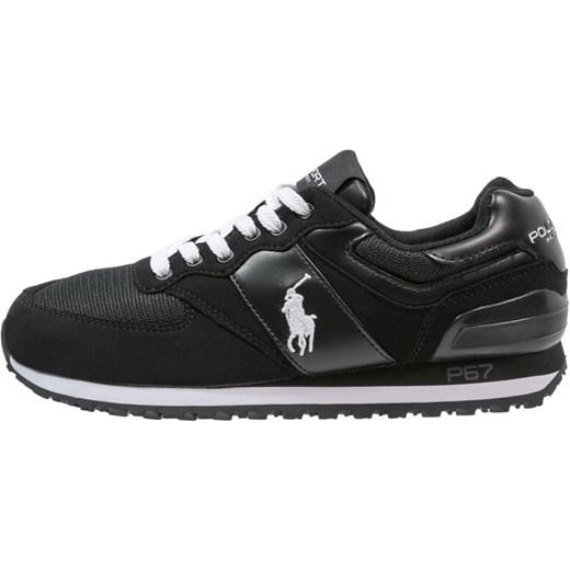 Polo Sport Ralph Lauren SLATON Tenisówki i Trampki black white zalando  czarny casual w Domodi 5f7fd31a733