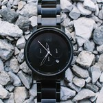 CHRONO ALL BLACK Mvmt Watches czarny  theClassy.pl