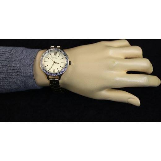 eedd360b0be208 ZEGAREK CARAVELLE 44L154 Nowoczesne Zegarki na rękę e-watches bezowy damskie  w Domodi