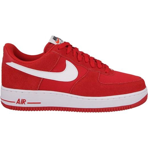promo code 9b869 54d62 BUTY NIKE AIR FORCE 1 07 LOW 820266 601 czerwony Nike 43 promocja  yessport.pl ...