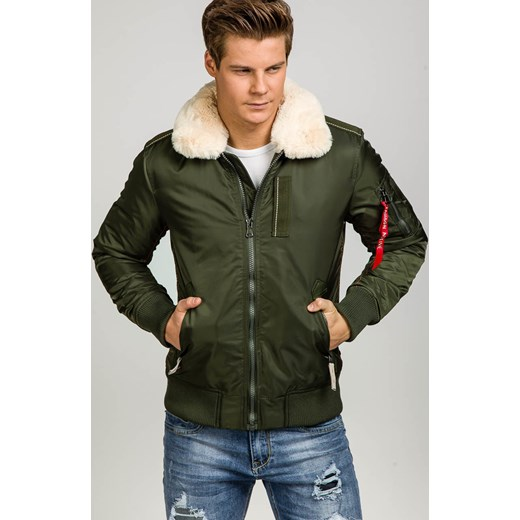1131101bfa241 ... M promocyjna cena Denley.pl  Zielona kurtka męska zimowa Denley 3170  J.Style XL Denley.pl okazja ...