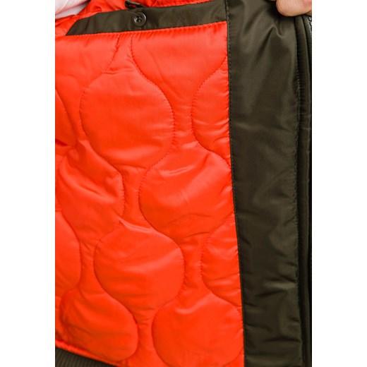 8db7990f8741b ... Zielona kurtka męska zimowa Denley 3170 J.Style M okazyjna cena  Denley.pl ...