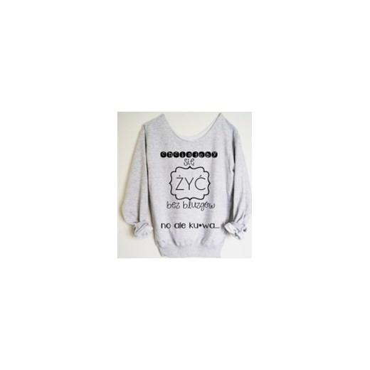 e51364b20795c4 Bluza z szerokim dekoltem