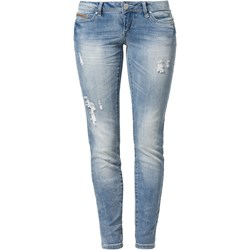 ONLY CORAL  Jeansy Slim fit light blue denim