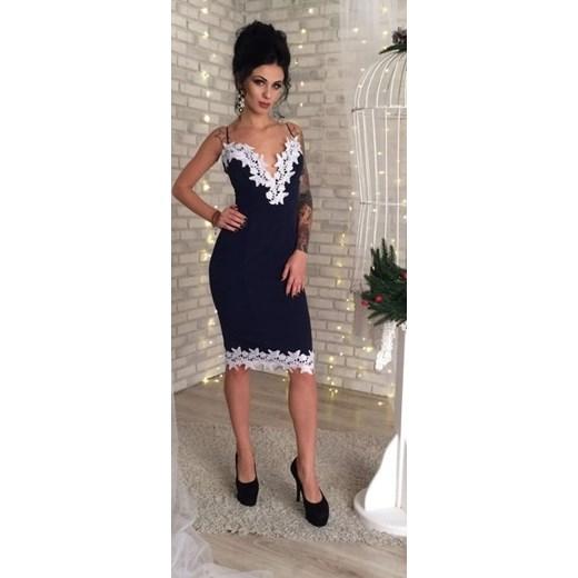 3de5e6be8b Sukienka wieczorowa czarna 900 brazowy Multibrand FashionGO w Domodi