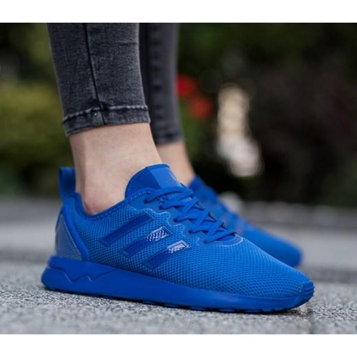 Adidas Niebieskie Damskie Buty Sportowe Zx Flux J Wyprzedaż
