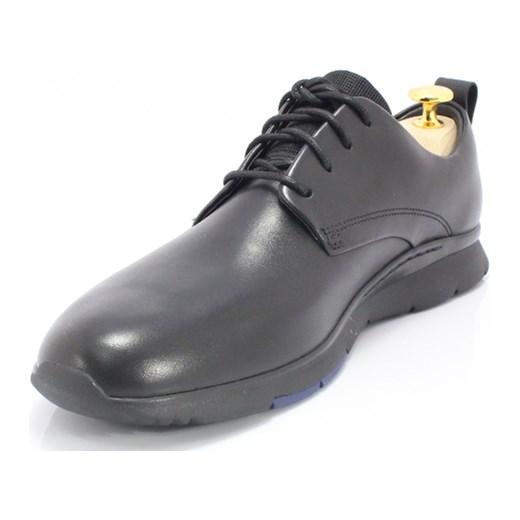600dbb00d9b2a ... CLARKS 26119905 CZARNE - Markowe, wygodne buty ze skóry, styl CASUAL  Clarks szary 41 ...