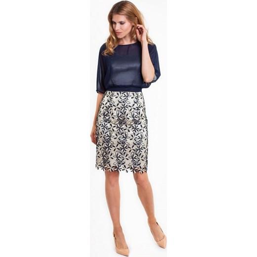 f24725a6f1 Elegancka sukienka DIAZ czarny L ame De Femme Eye For Fashion w Domodi