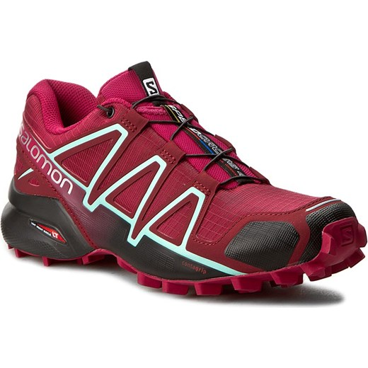 Buty SALOMON Speedcross 4 W 393439 Tibetan RedSangriaBlack