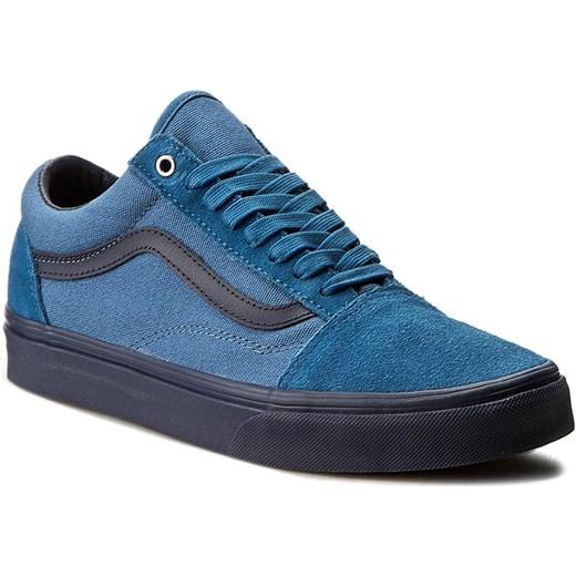 vans old school niebieskie